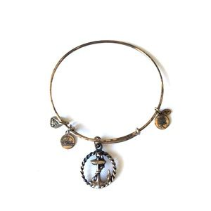 Alex and Ani Rope and Anchor Bracelet